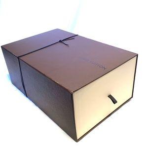 Louis Vuitton Shoe Box